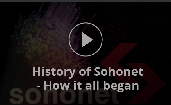 history of sohonet video plate fmx